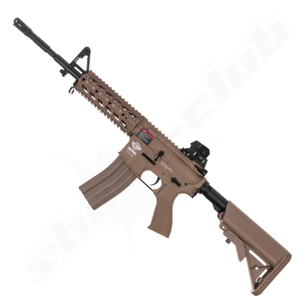 G&G CM16 Raider L AEG TAN 0,5 J 6mm Airsoft ab14 - Set Bild 3