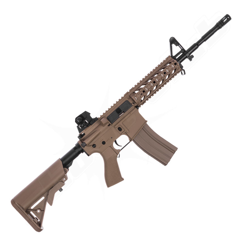 G&G CM16 Raider L AEG TAN 0,5 J 6mm Airsoft ab14 - Set Bild 2