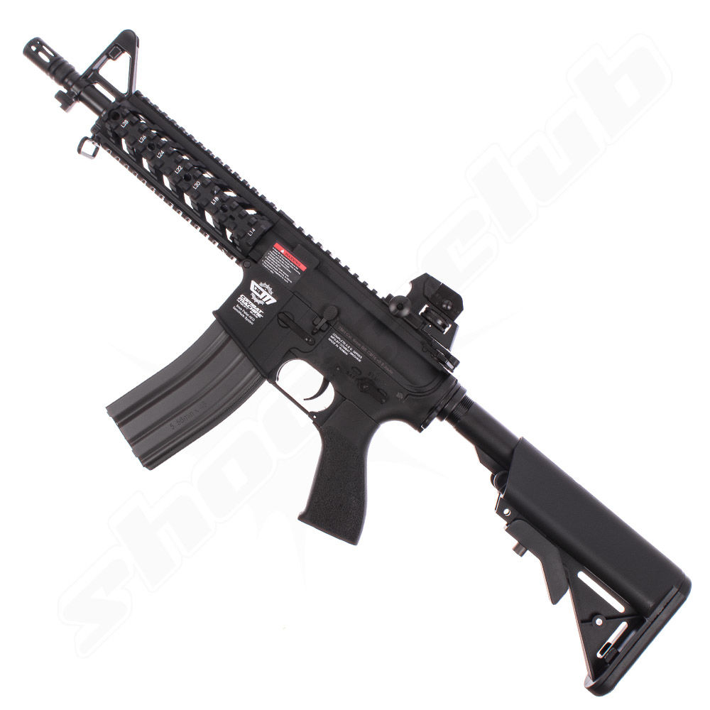 G&G Armament CM16 Raider AEG 6mm max. 0,5J - black im Set Bild 3