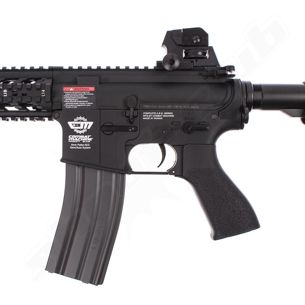G&G Armament CM16 Raider AEG 6mm Airsoft Gewehr 0,5J - black Bild 3
