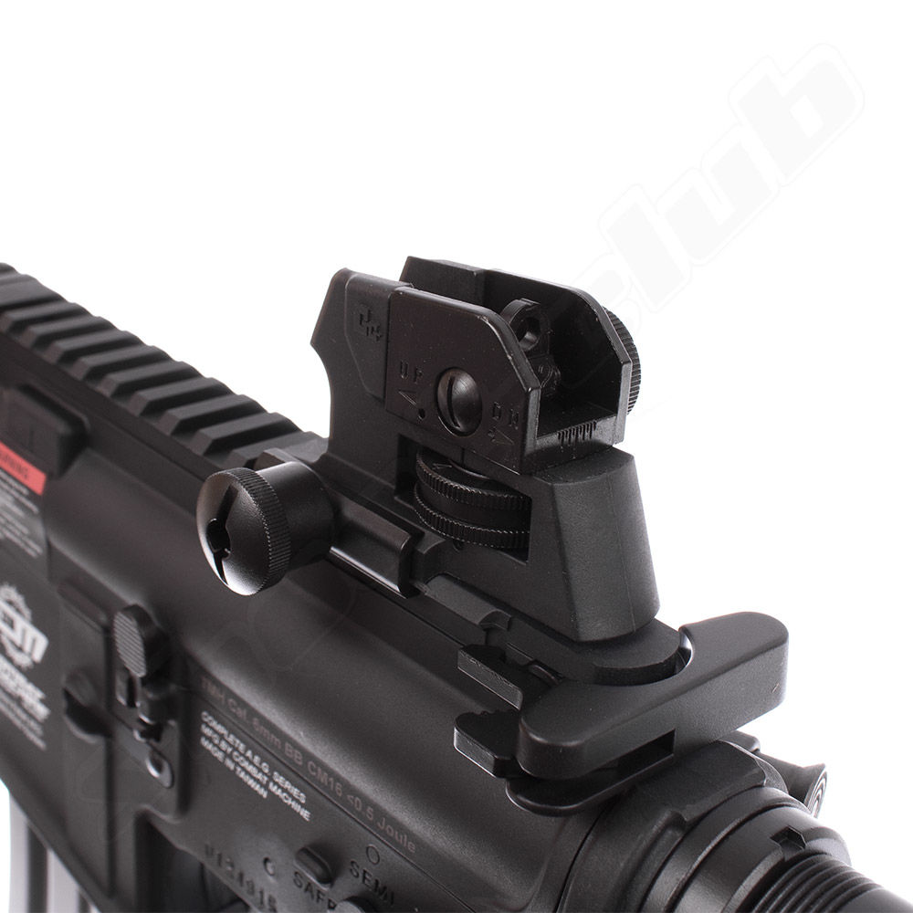 G&G Armament CM16 Raider AEG 6mm max. 0,5J - black im Set Bild 5
