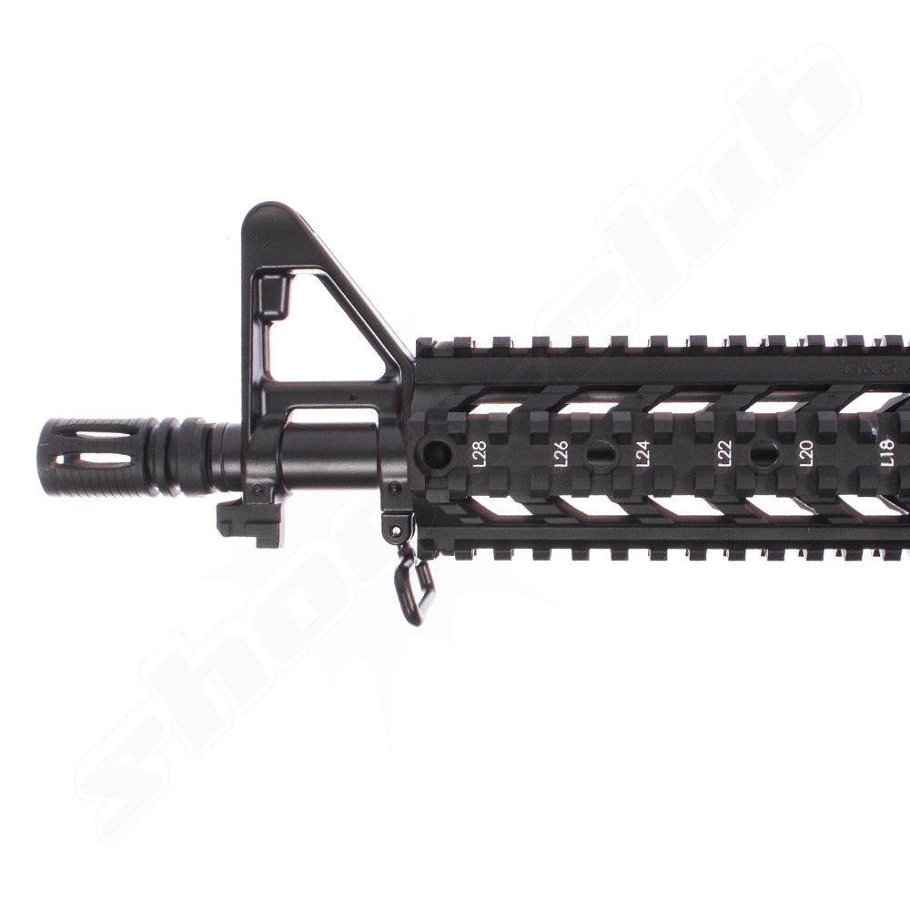 G&G Armament CM16 Raider AEG 6mm max. 0,5J - black im Set Bild 4