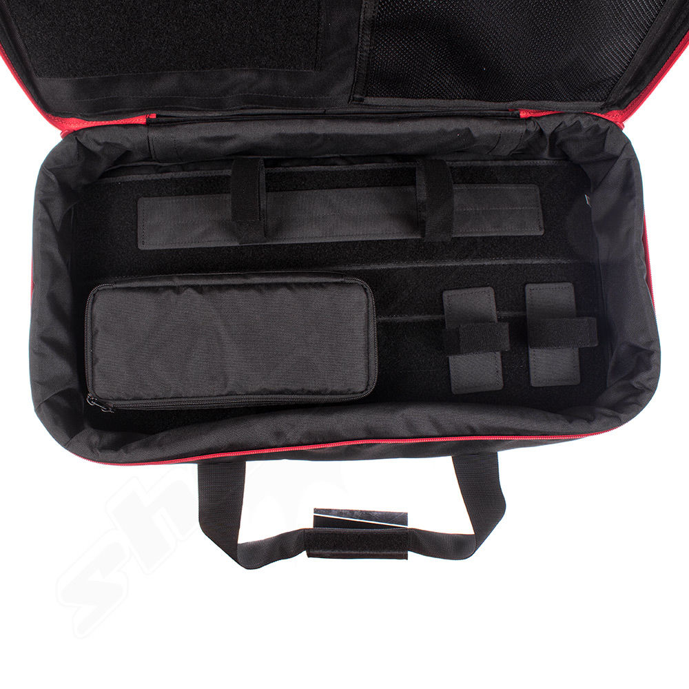 Satellit official licensed Kriss Vector Gun Case  schwarz / Rot Größe M Bild 3