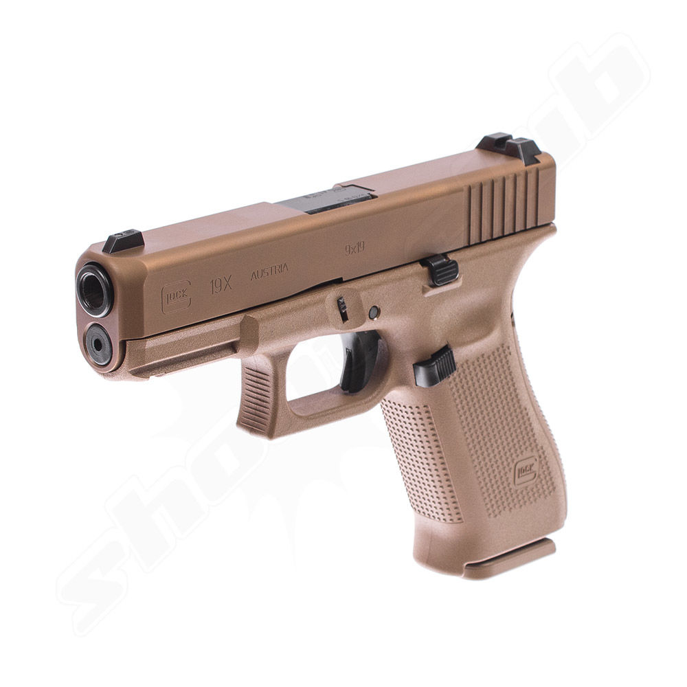 Glock 19 X im Kaliber 9mm Luger