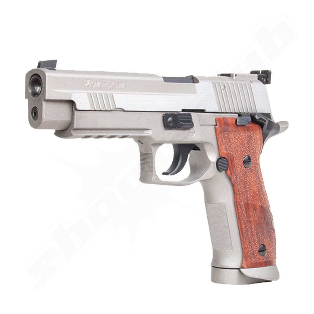 KWC SIG Sauer P226 X-Five Airsoft CO2 GBB Pistole ab 18 - Stainless Bild 2