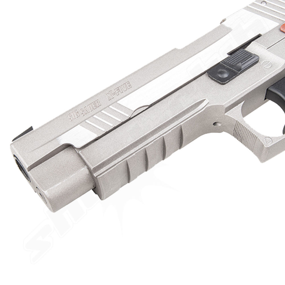 KWC SIG Sauer P226 X-Five Airsoft CO2 GBB Pistole ab 18 - Stainless Bild 3