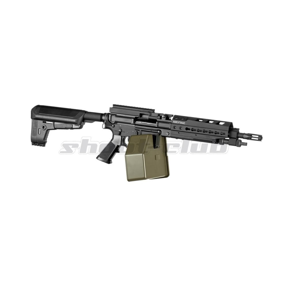 Krytac Trident LMG Enhanced AEG 6mm ab 14 - 0,5J  - Black Bild 2