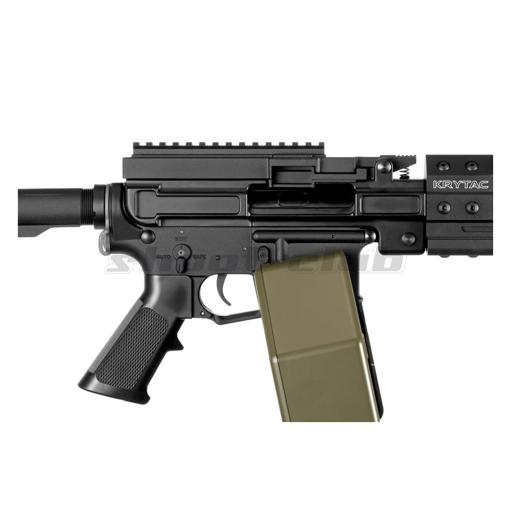 Krytac Trident LMG Enhanced AEG 6mm ab 14 - 0,5J  - Black Bild 3