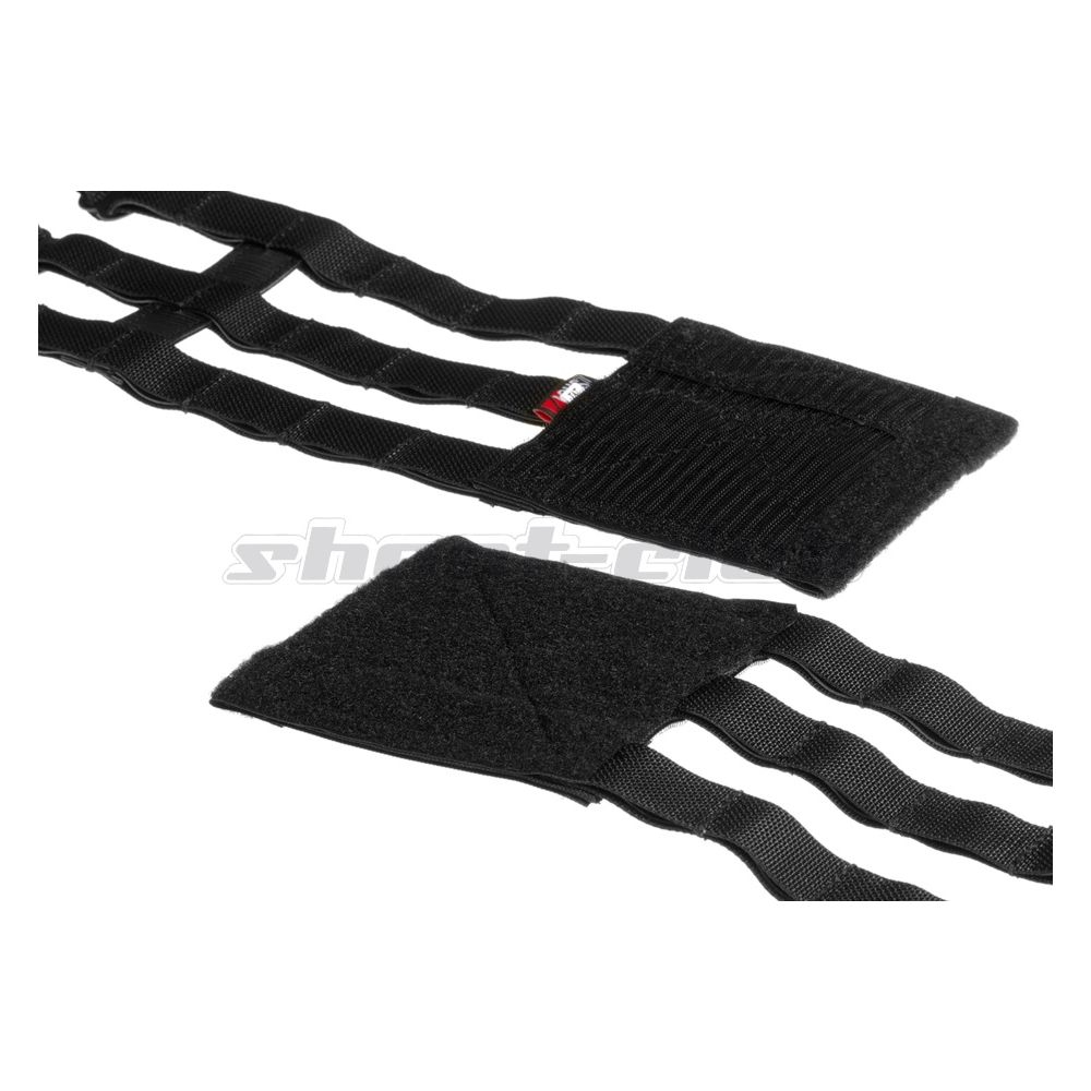 Crye Licensed AVS 3-Band Skeletal Cummerbund Large - Black Bild 2