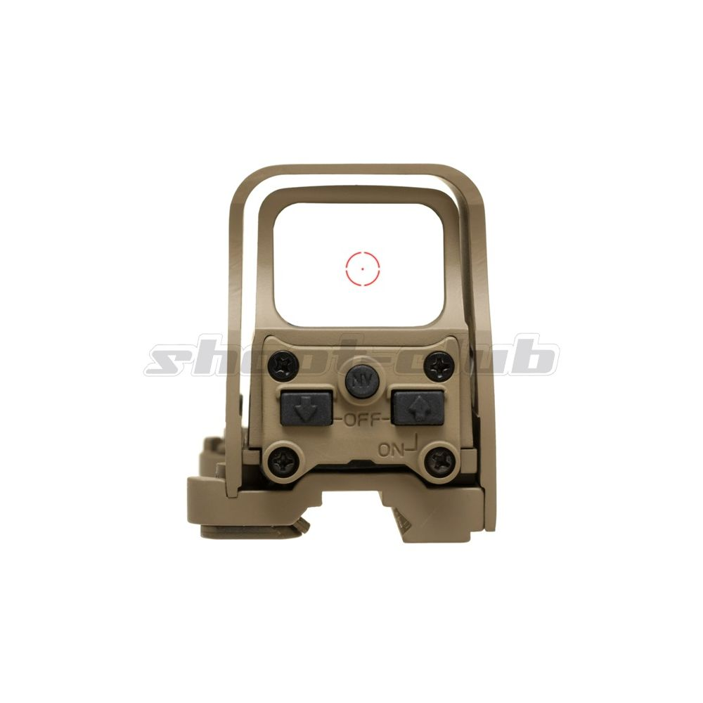 Aim-O Airsoft Red Dot Sight Holo553 Style QD-Mount - TAN Bild 3