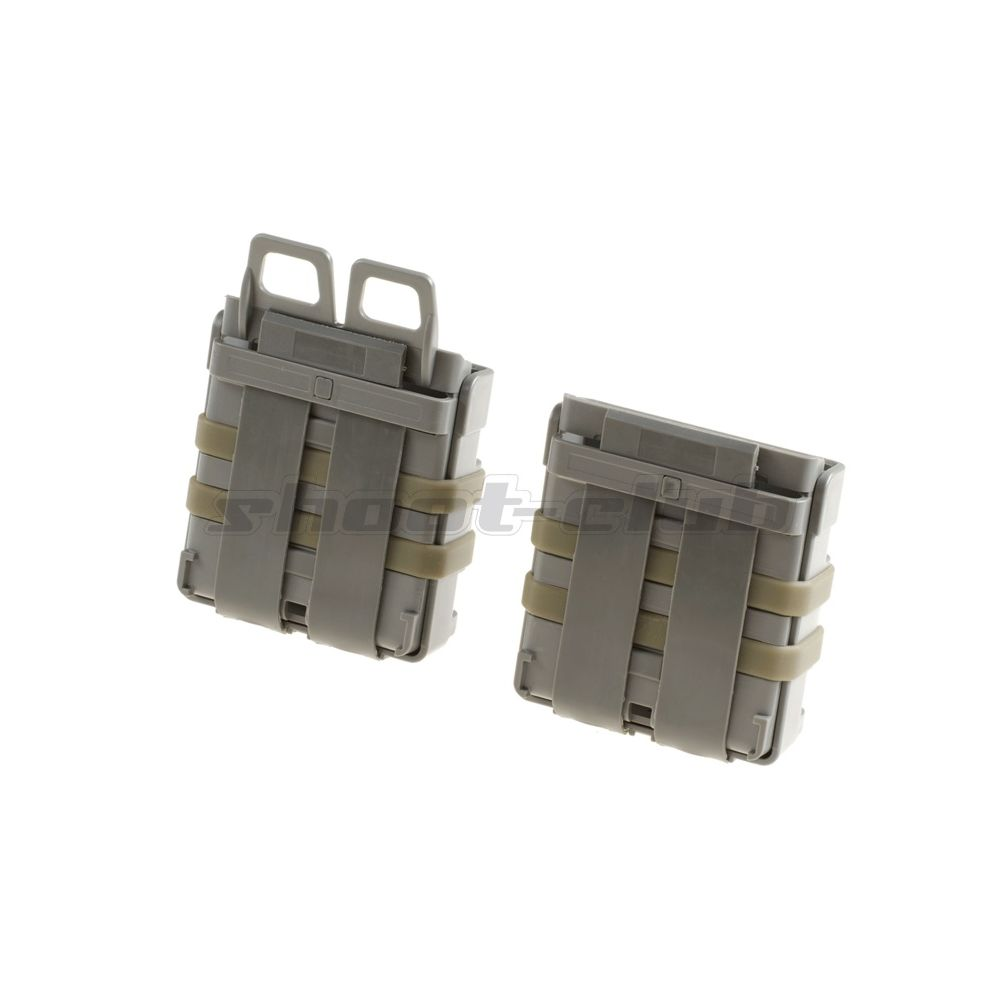 FMA Magazintasche Mag Pouch Fastmag Style 7,62 Set - Foliage Green Bild 2