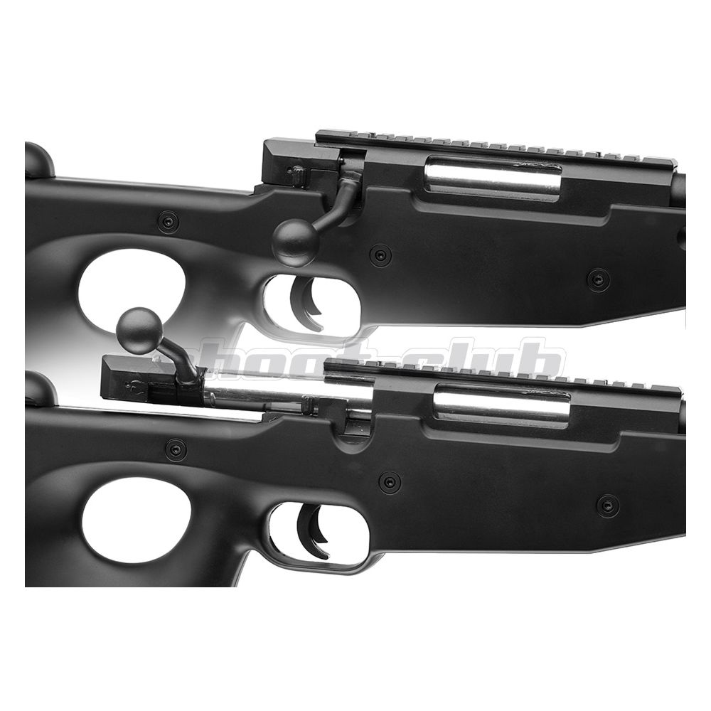Well L96 MB-01 6mm Airsoft Sniper Black - ab 18 Bild 3