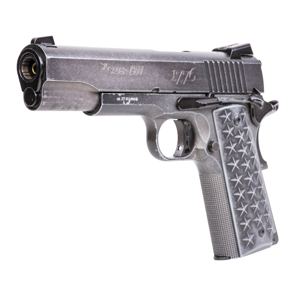 Sig Sauer 1911 WTP Blow Back CO2 Pistole Kaliber 4,5 mm BB Bild 2