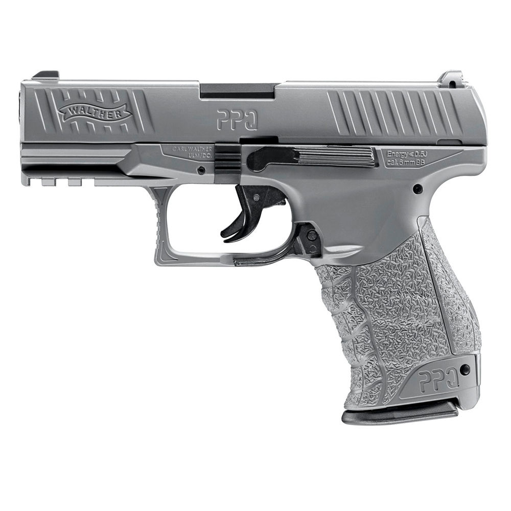 Walther PPQ HME 6 mm Airsoft BBs 0,5 Joule - Metal Gray - im Set Bild 3