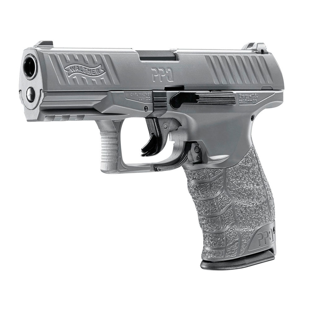Walther PPQ HME 6 mm Airsoft BBs 0,5 Joule - Metal Gray - im Set Bild 4