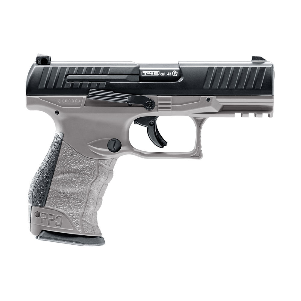 Walther PPQ M2 T4E Tungsten Gray .43 inkl. Battle Dust Powderballs Bild 3