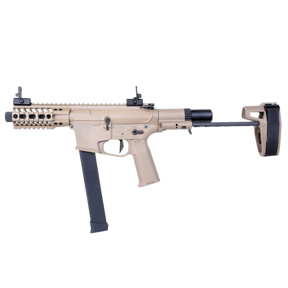 Ares M4 45 Pistol - S-Class S Airsoft SMG S-AEG ab18 - TAN Bild 2