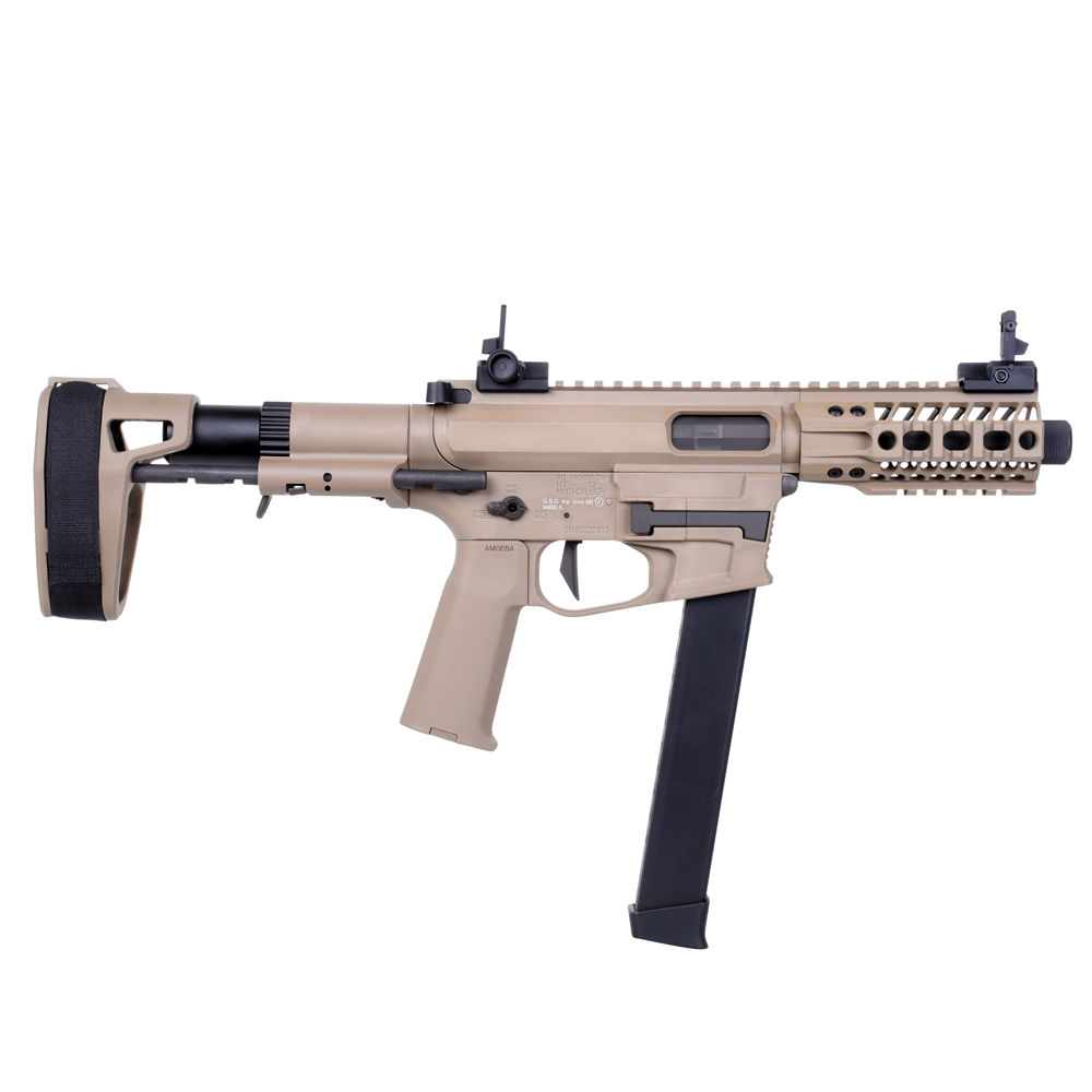 Ares M4 45 Pistol - S-Class S Airsoft SMG S-AEG ab18 - TAN Bild 3