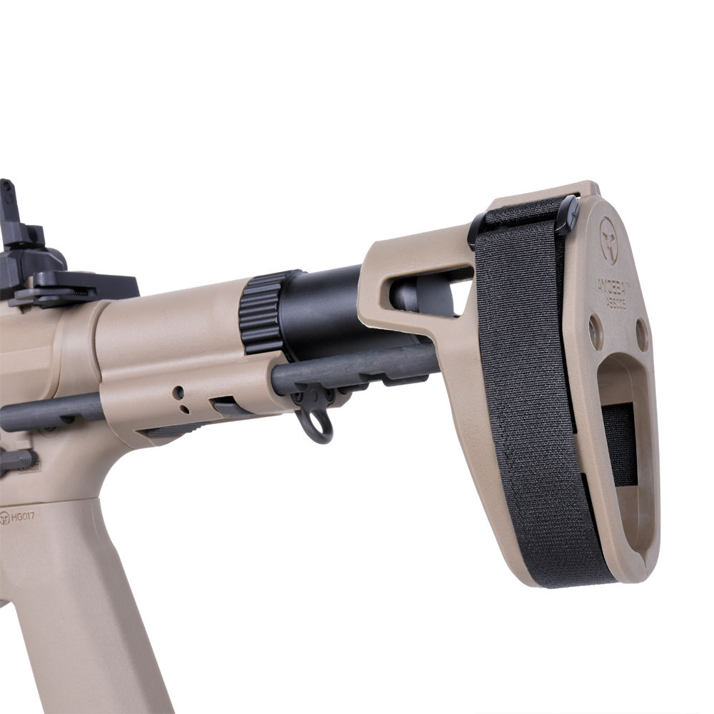 Ares M4 45 Pistol - S-Class S Airsoft SMG S-AEG ab18 - TAN Bild 5