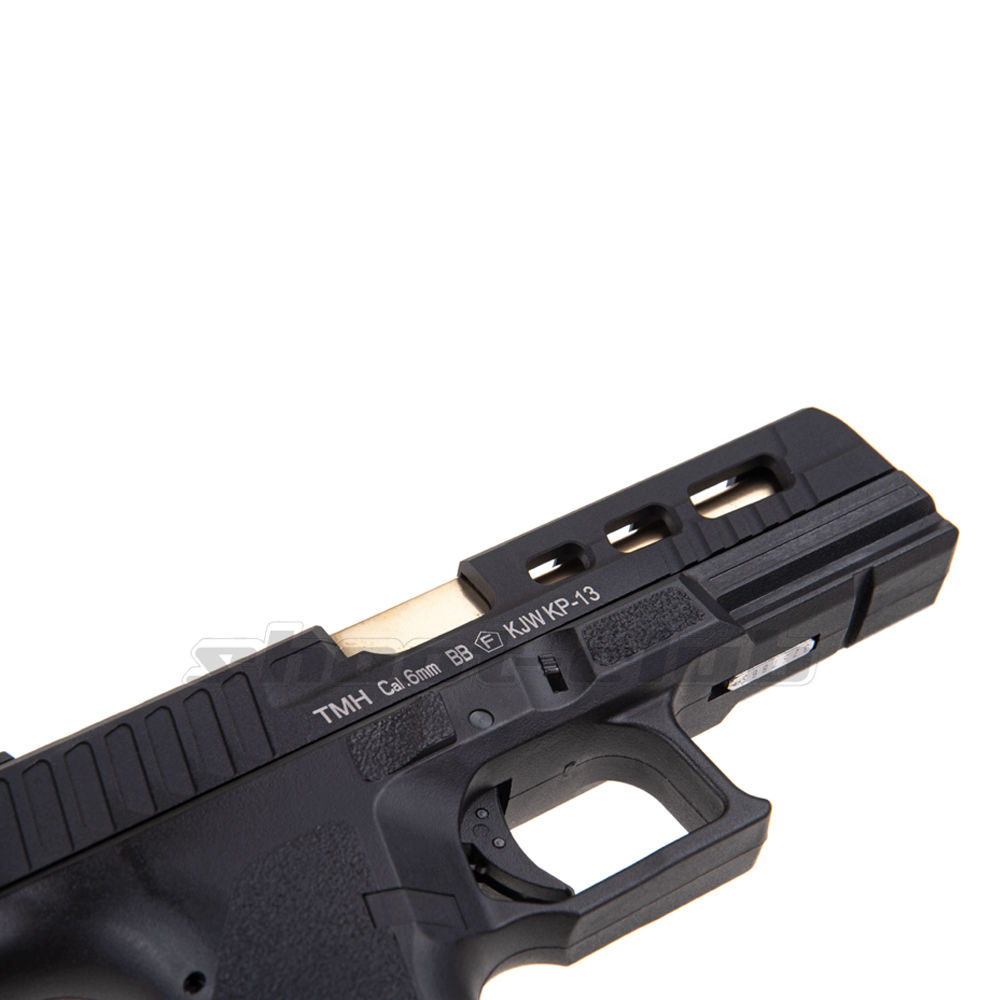 KJ Works KP-13 Custom Metal Airsoft CO2 Blowback ab 18 - Black Bild 2