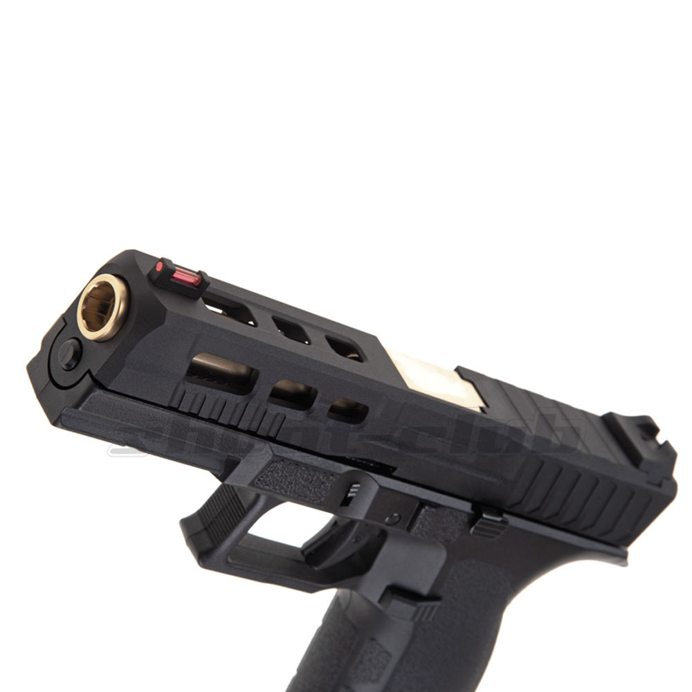 KJ Works KP-13 Custom Metal Airsoft CO2 Blowback ab 18 - Black Bild 3