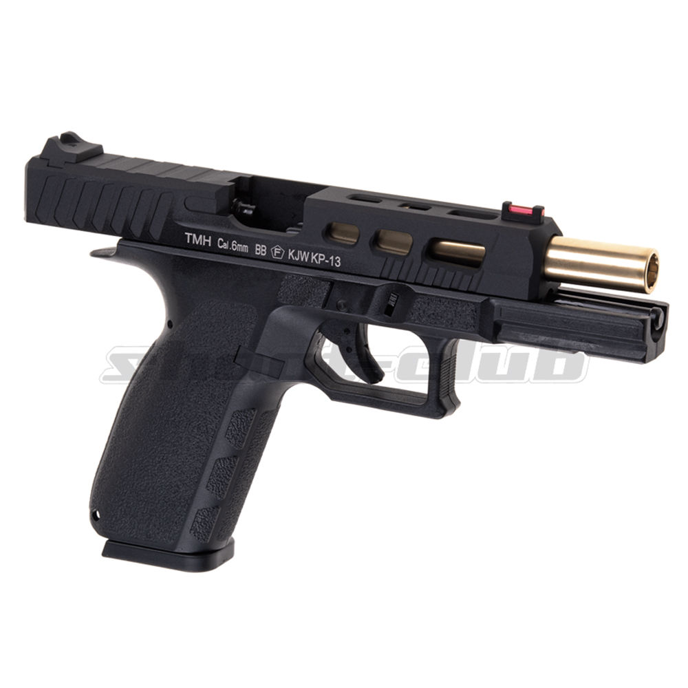 KJ Works KP-13 Custom Metal Airsoft CO2 Blowback ab 18 - Black Bild 4