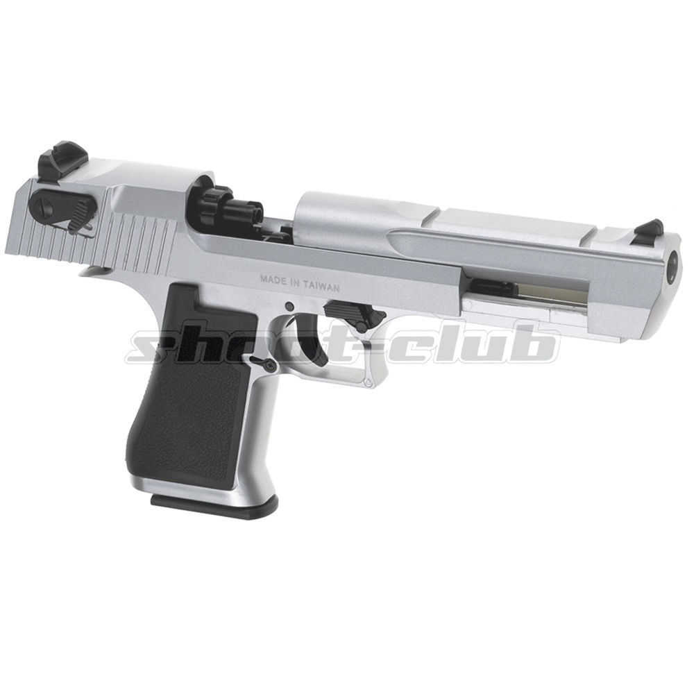 KWC Desert Eagle Airsoft .50 Metal Version CO2 Pistole 6 mm - Silver Bild 2