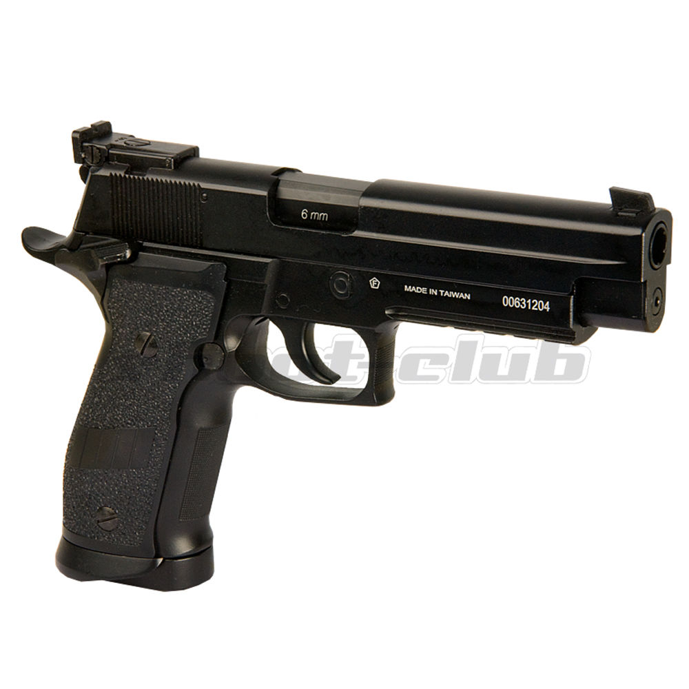 KWC P226 Match Full Metal CO2 Airsoft Pistole ab18 - Black Bild 2