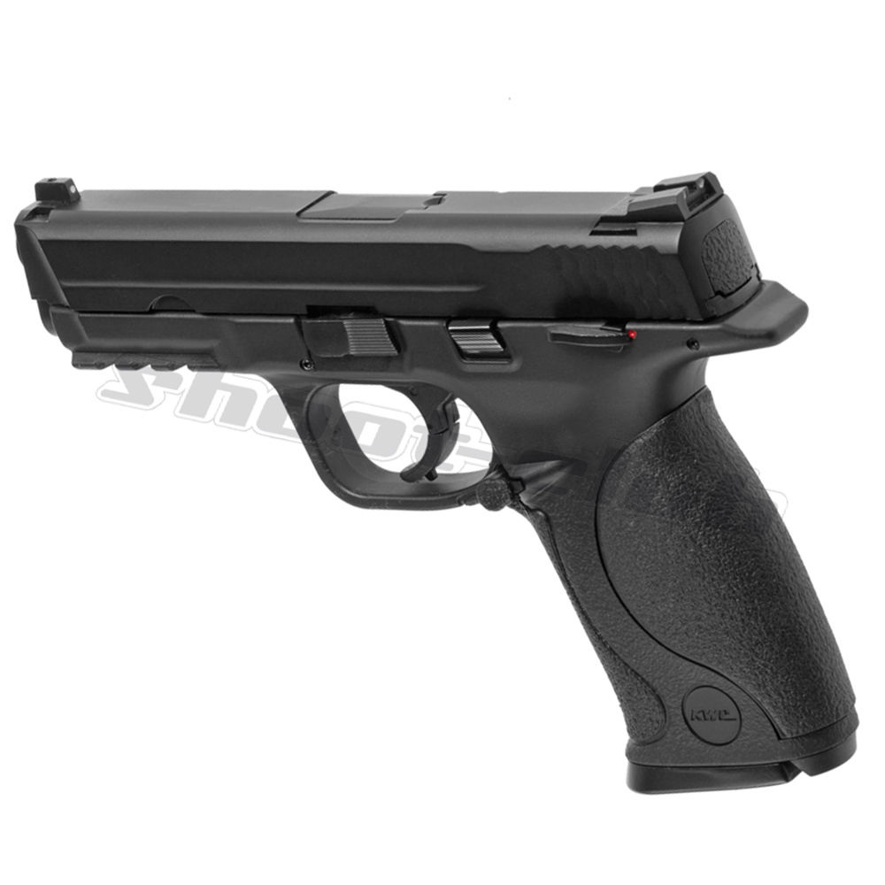 KWC M&P 40 Blowback Metal Version CO2 Airsoft Pistole - Black Bild 2