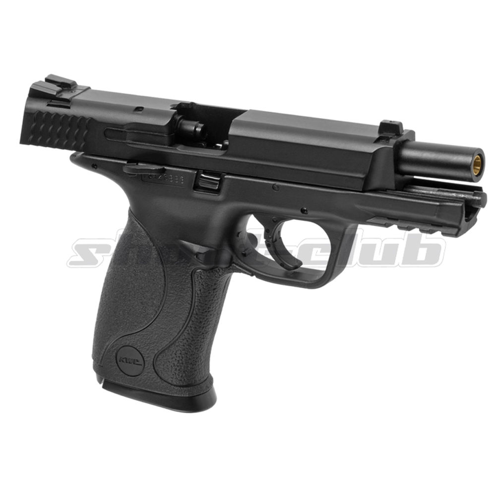 KWC M&P 40 Blowback Metal Version CO2 Airsoft Pistole - Black Bild 4
