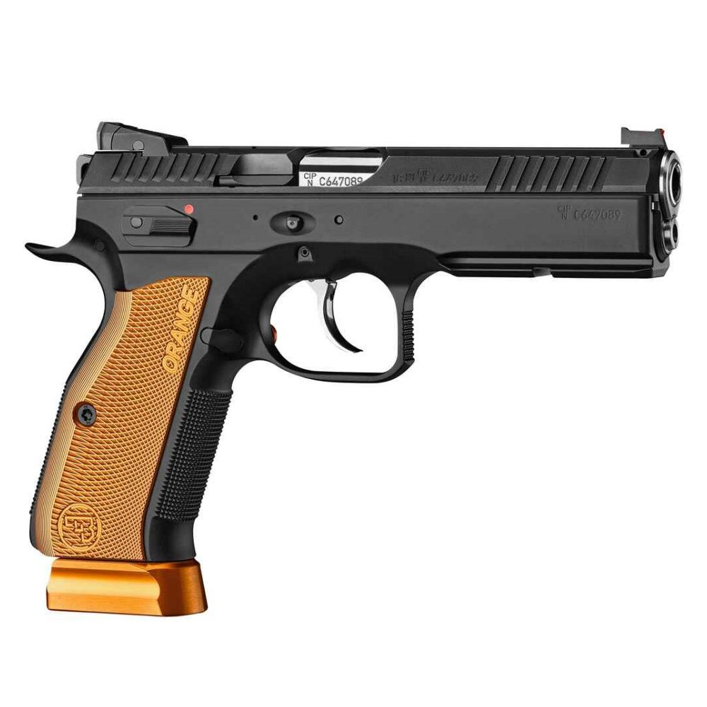 CZ Shadow 2 Orange Kaliber 9mm Luger IPSC Bild 2
