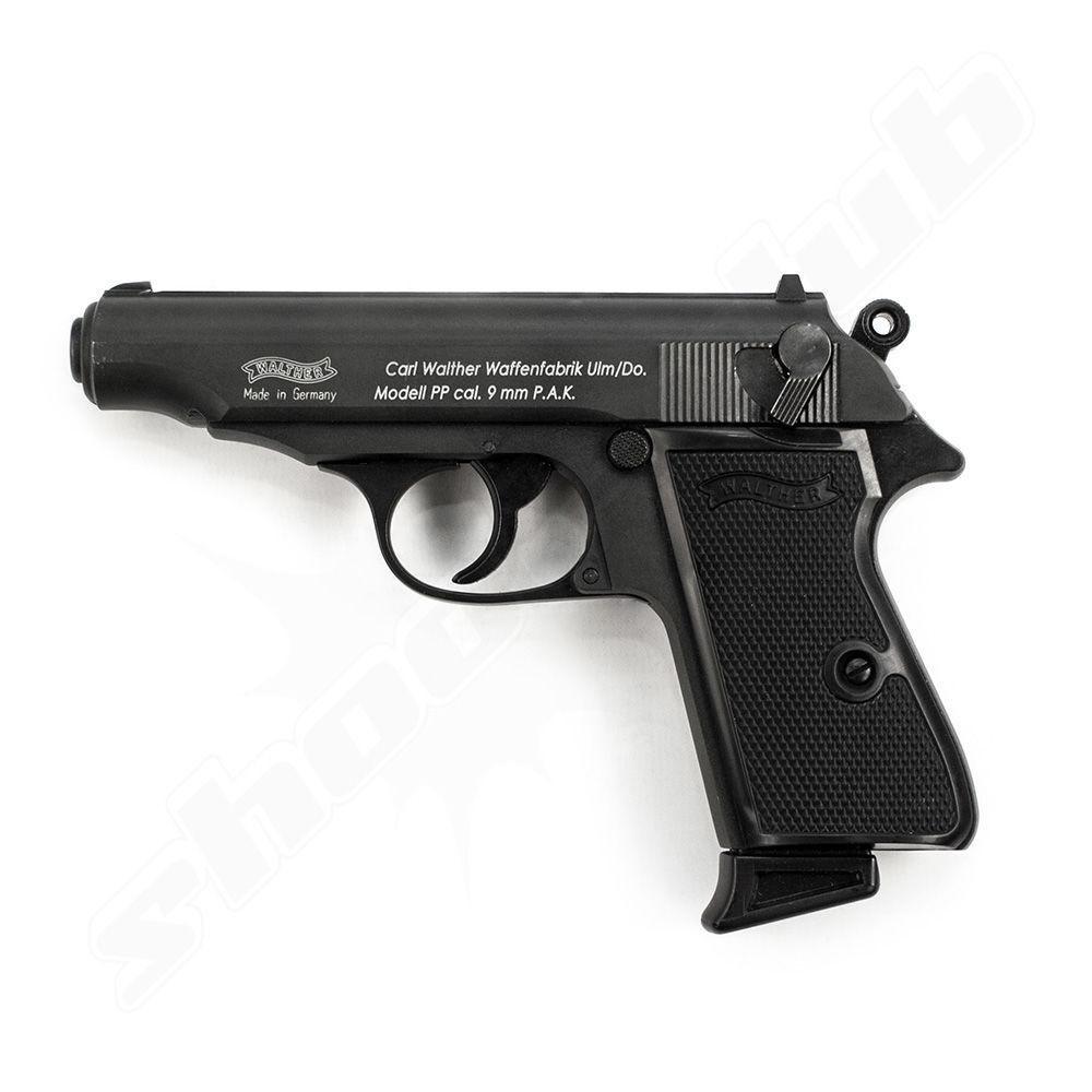 walther pp schreckschusspistole 9mm platzpatronen. Black Bedroom Furniture Sets. Home Design Ideas