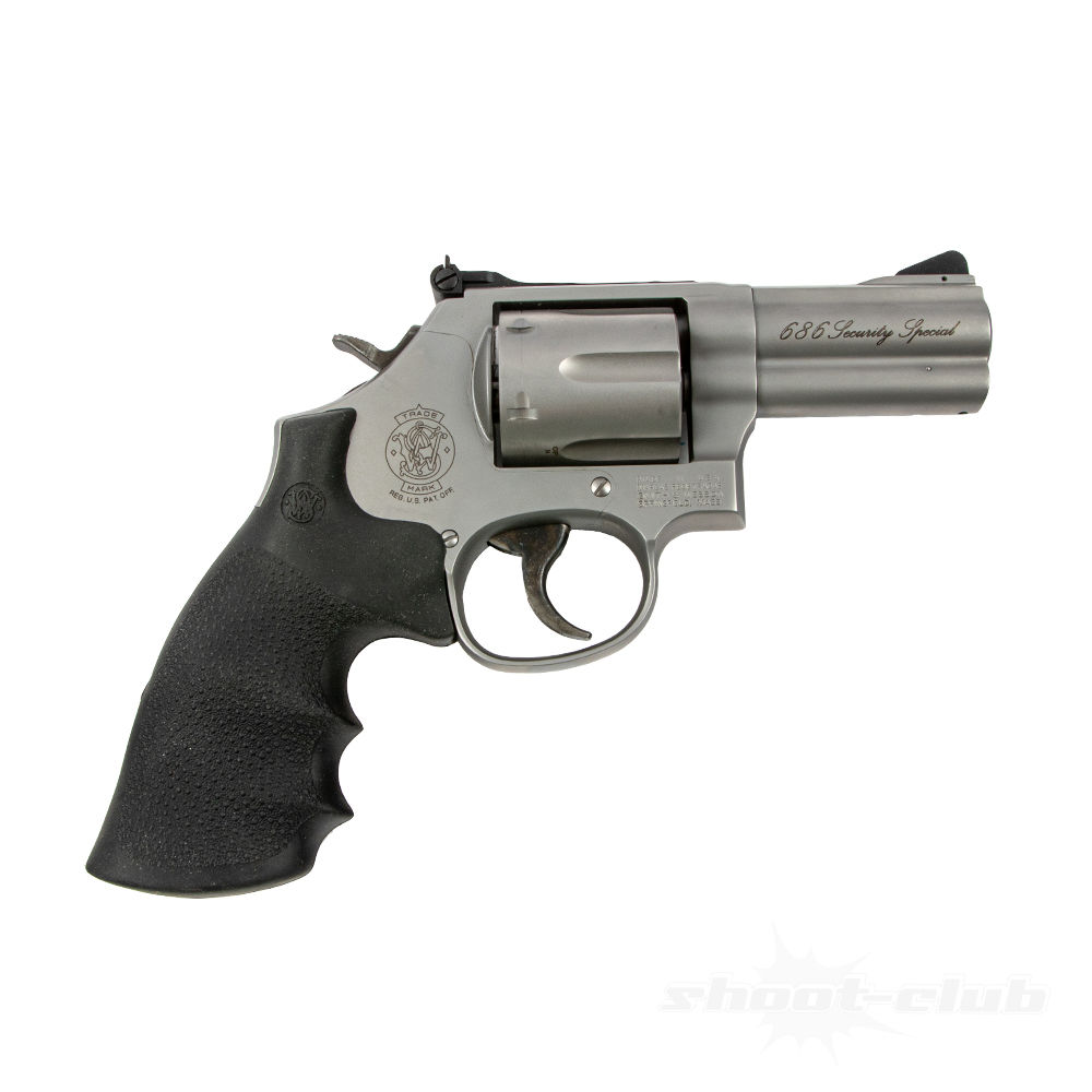 Smith & Wesson Revolver 686 Security Special 3 Zoll Kaliber .357Mag Bild 2