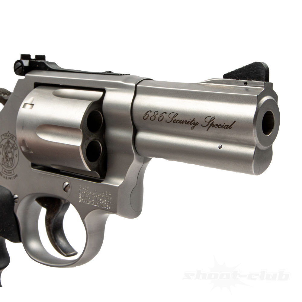Smith & Wesson Revolver 686 Security Special 3 Zoll Kaliber .357Mag Bild 4
