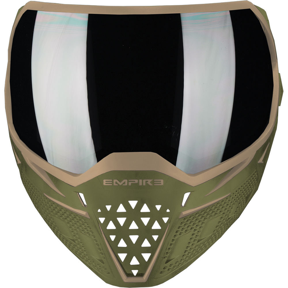 Empire EVS Thermal Maske, Paintball / Airsoft, Olive / Tan Bild 2