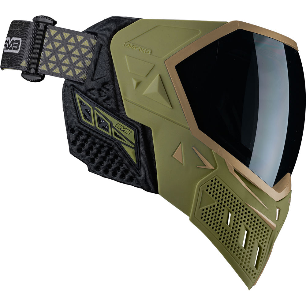Empire EVS Thermal Maske, Paintball / Airsoft, Olive / Tan Bild 4