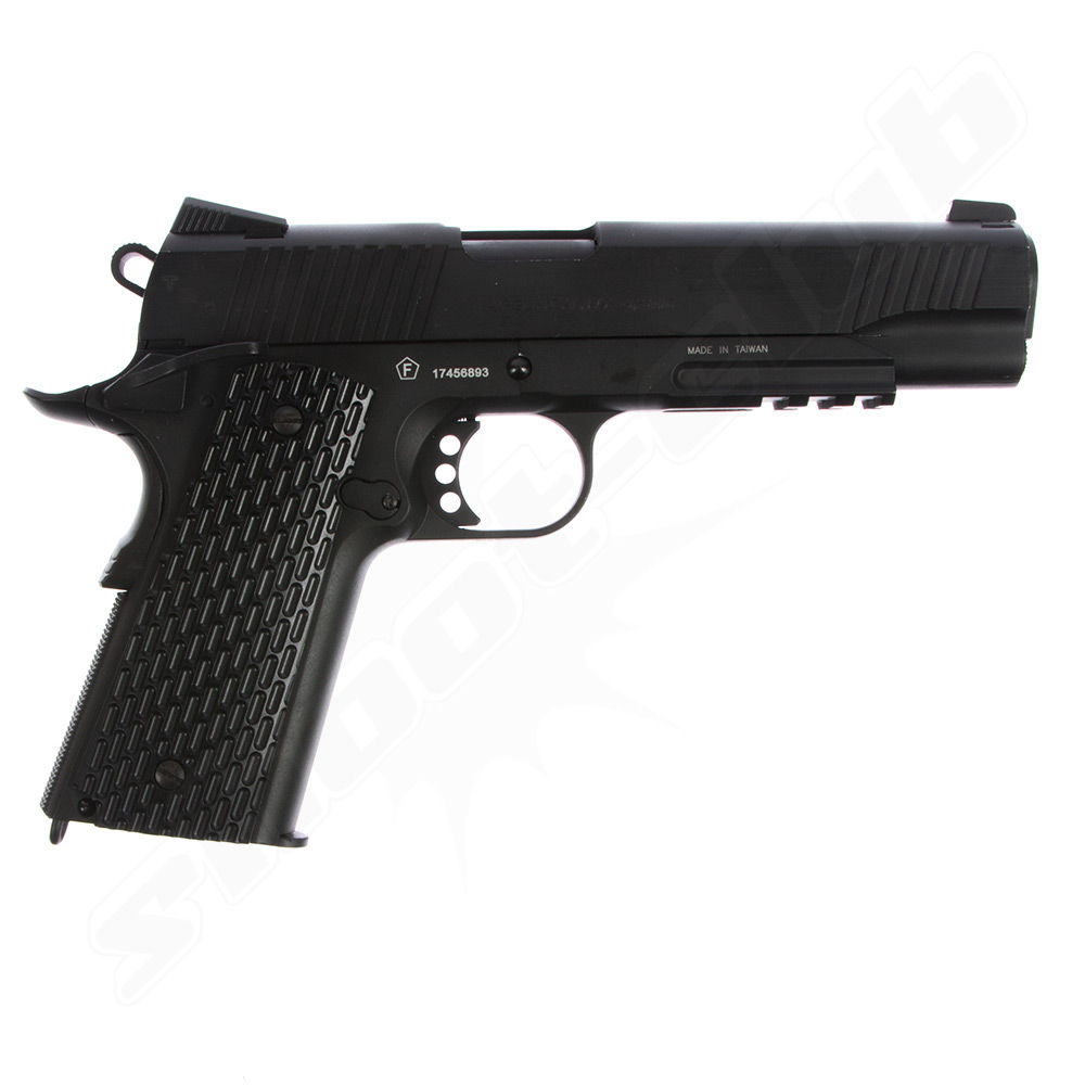 Swiss Arms SA 1911 TRS CO2 Pistole im Kaliber 4,5 mm BB - KWC Bild 2