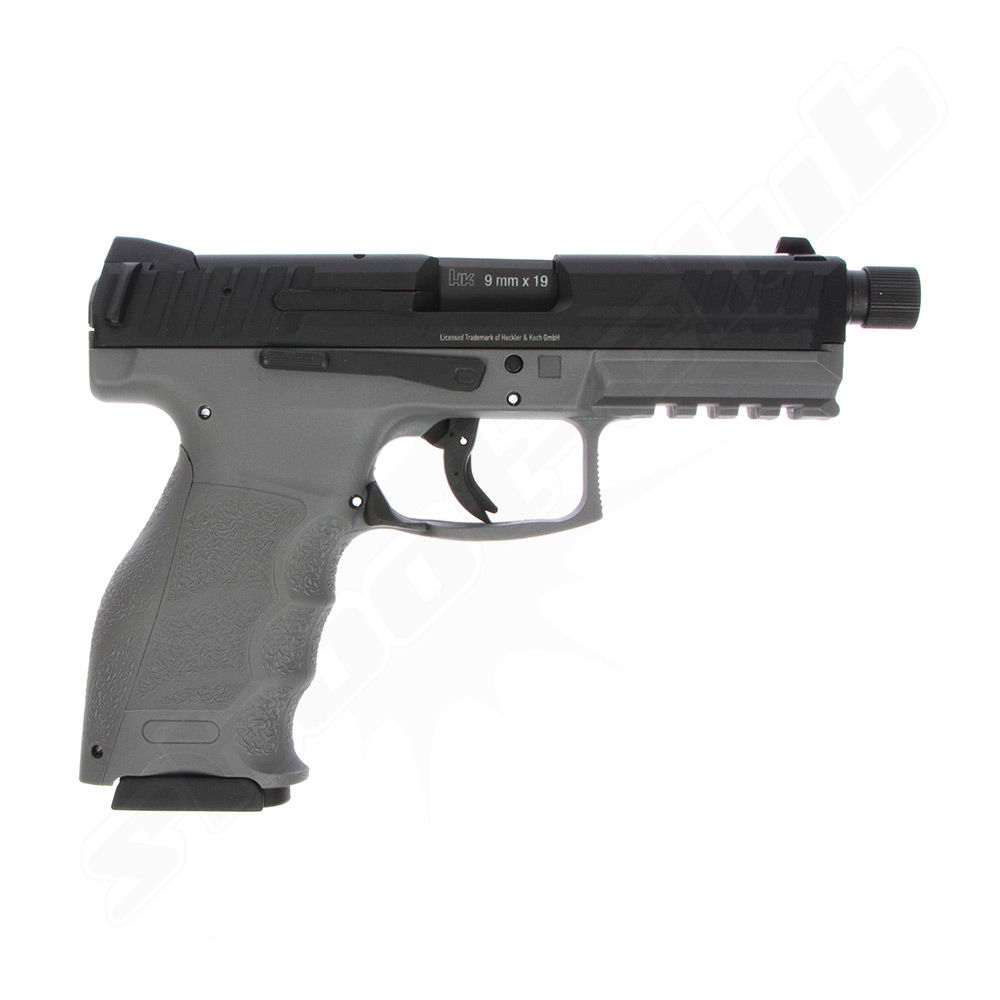 Heckler & Koch VP9 Tactical - Grey limited edition 6mm Airsoft Pistole Bild 2