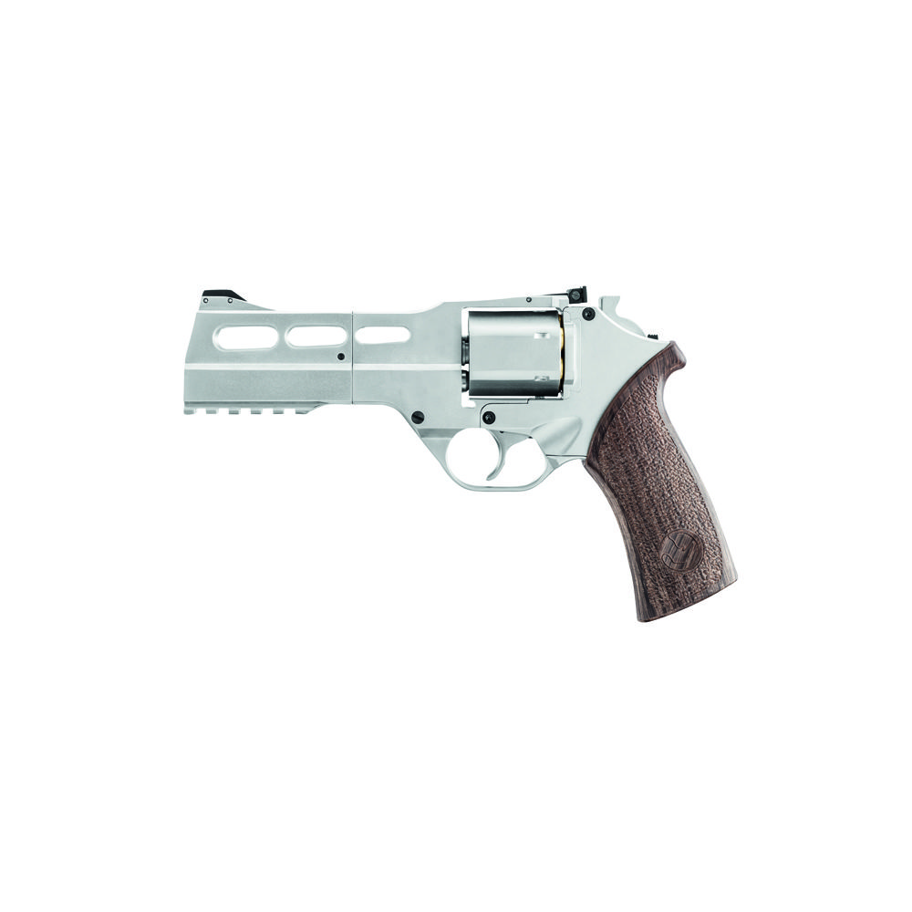Chiappa Rhino 50DS Co2 Revolver 4,5mm BB Nickel / Braun Bild 2