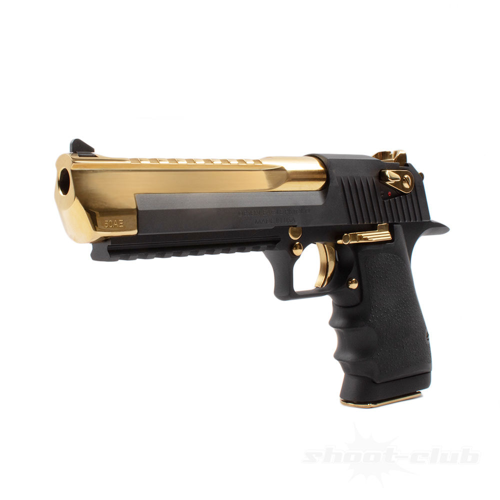 Magnum Research Desert Eagle XIX Pistole Black & Gold .50AE Lauf 6 Bild 2