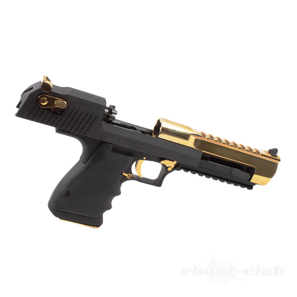 Magnum Research Desert Eagle XIX Pistole Black & Gold .50AE Lauf 6 Bild 4