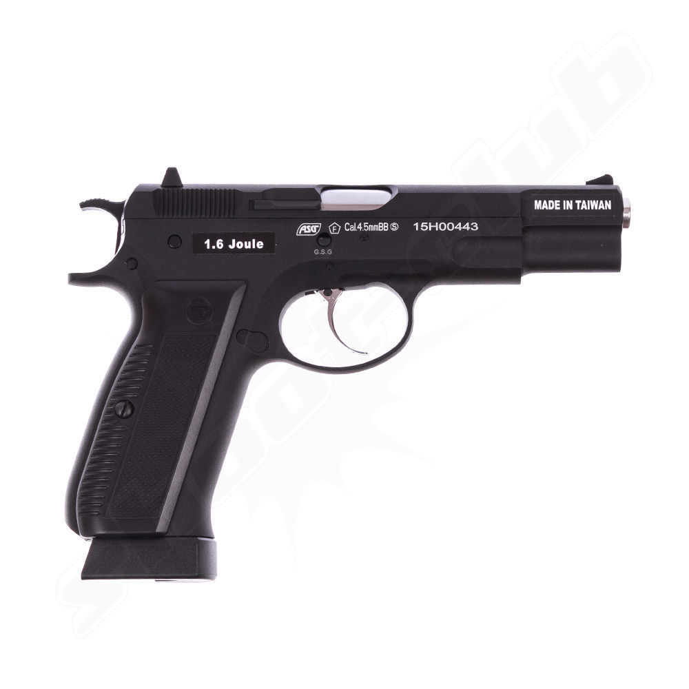 CZ 75 Vollmetall CO2 Pistole - BlowBack / 4,5 mm BB Bild 2