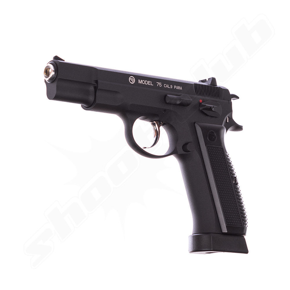 CZ 75 Vollmetall CO2 Pistole - BlowBack / 4,5 mm BB Bild 3