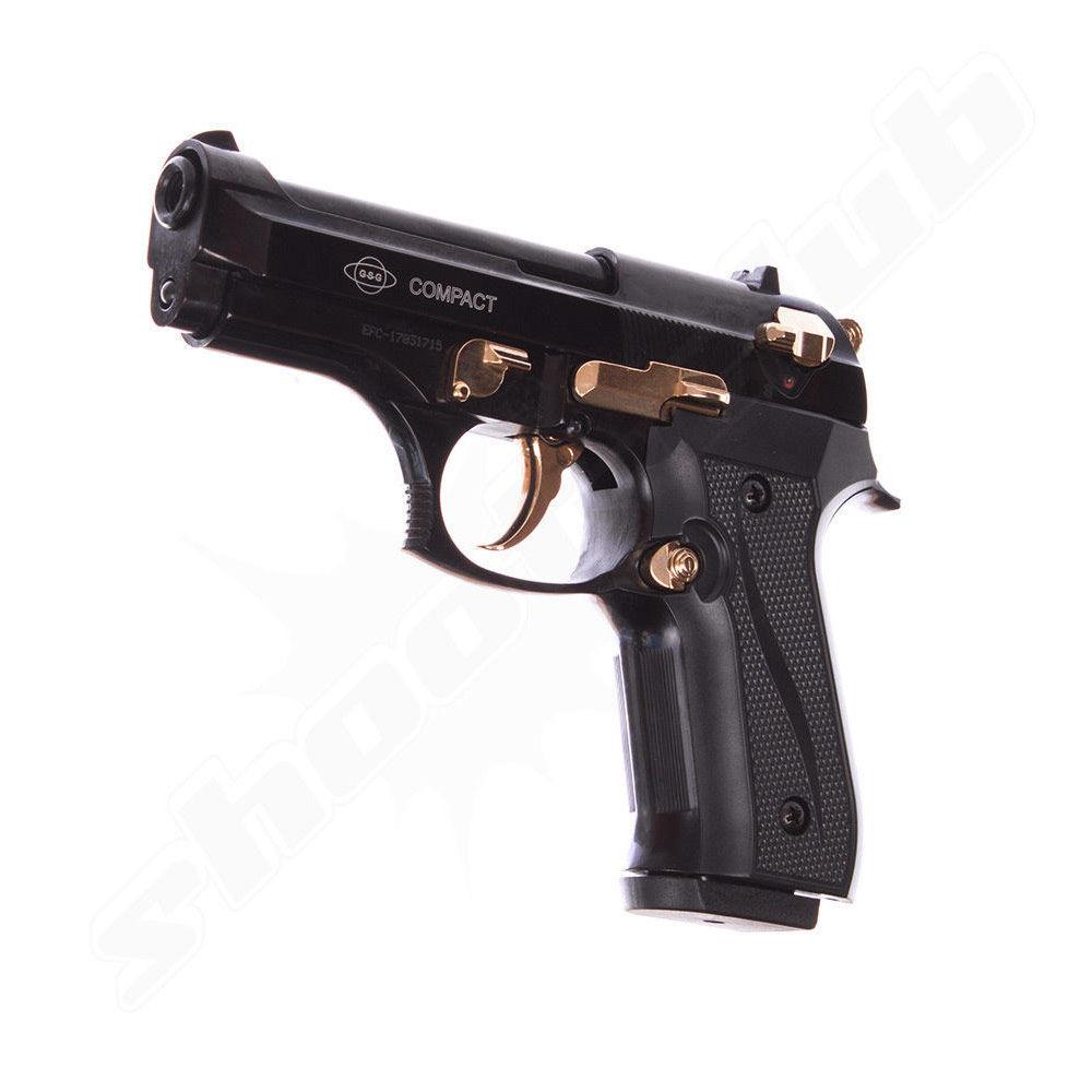 ekol compact schwarz gold 9mm schreckschusspistole. Black Bedroom Furniture Sets. Home Design Ideas