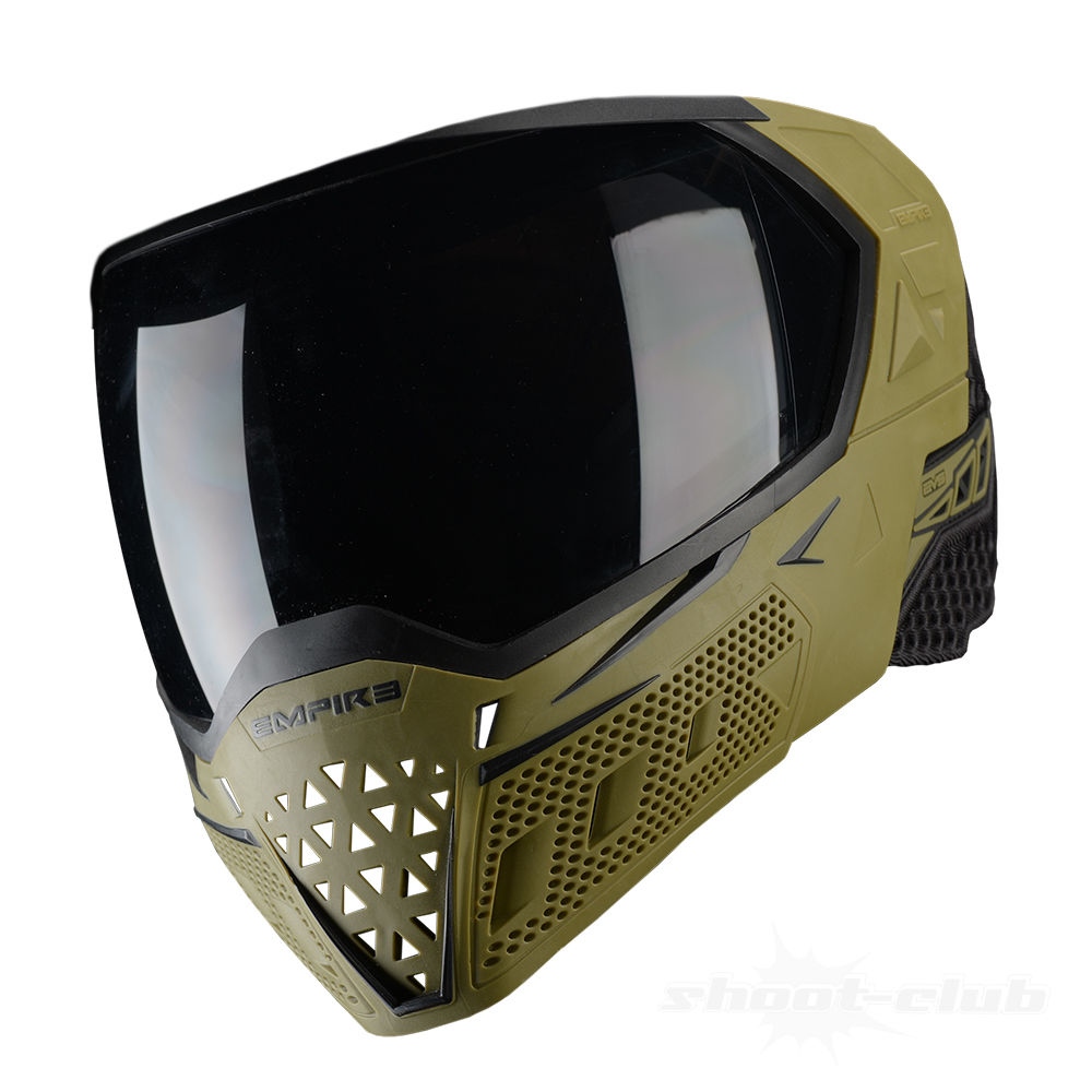 Empire EVS Thermal Maske f. Paintball/Airsoft+Thermalglas Clear-Olive/Black Bild 4