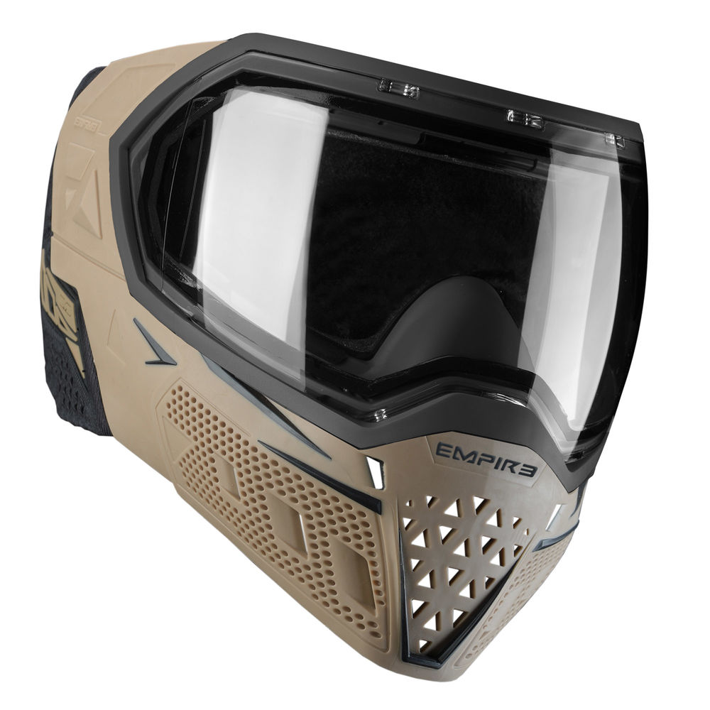 Empire EVS Thermal Maske f. Paintball/Airsoft+Thermalglas Clear-Tan/Black Bild 2