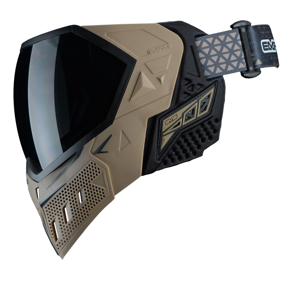 Empire EVS Thermal Maske f. Paintball/Airsoft+Thermalglas Clear-Tan/Black Bild 4