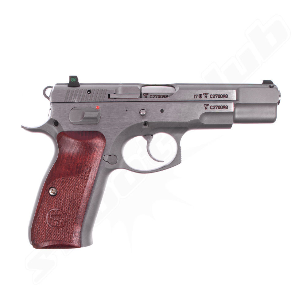 CZ 75B New Edition - Stainless Pistole - Kal. 9mm Luger Bild 2