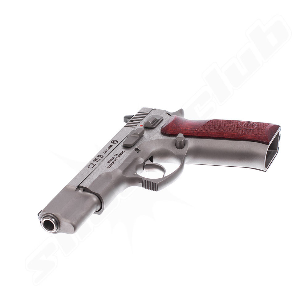 CZ 75B New Edition - Stainless Pistole - Kal. 9mm Luger Bild 4