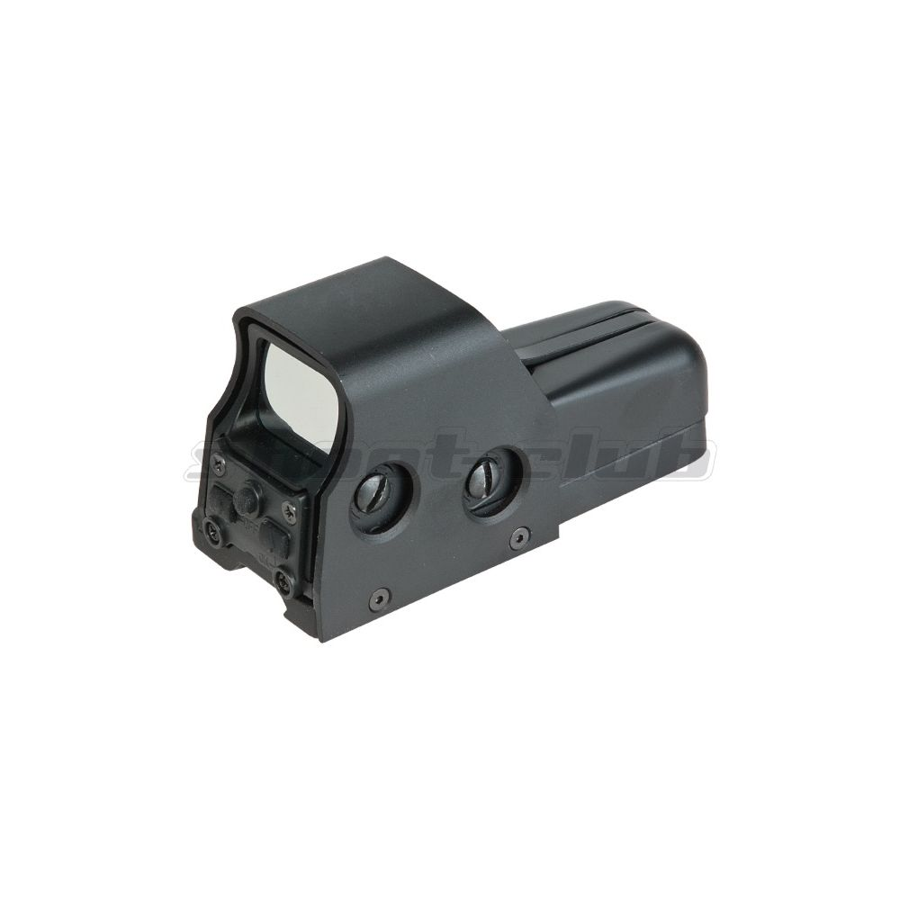 Aim-O Airsoft Red Dot Sight Holo553 Style QD-Mount - Black Bild 2
